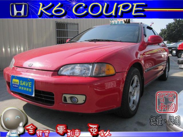 熱門推薦二手車-1996年HONDACivic Coupe