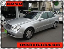 熱門推薦二手車-2006年BENZE240